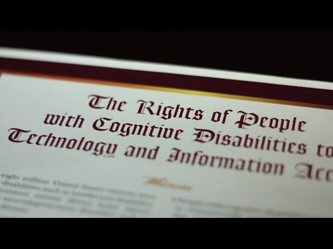 Rights of People With Cognitive Disabilities to Technology and Information Access