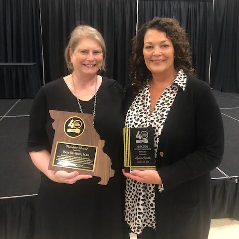 Lynn Smith receives MACDDS Lifetime Achievement Award