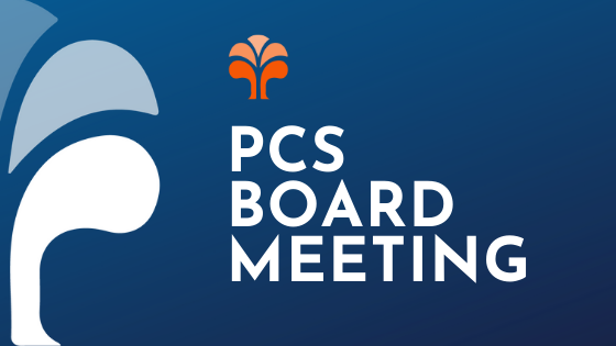 PCS board meeting