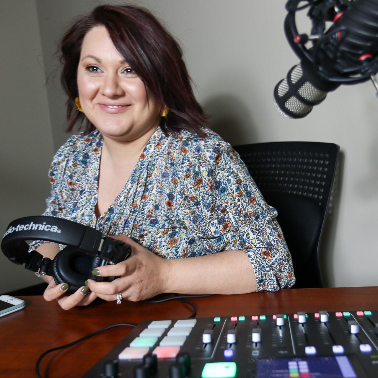 Photo: Colette Canchola Cox, host of Building Buchanan Podcast