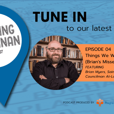 Fresh out: the latest Building Buchanan Podcast Episode with Brian Myers