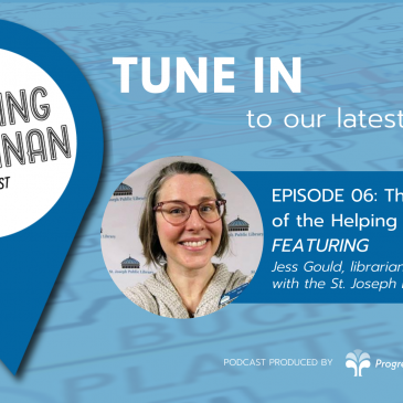 Listen NOW to Episode 06 – The Cool Aunt of the Helping Community #BuildingBuchanan